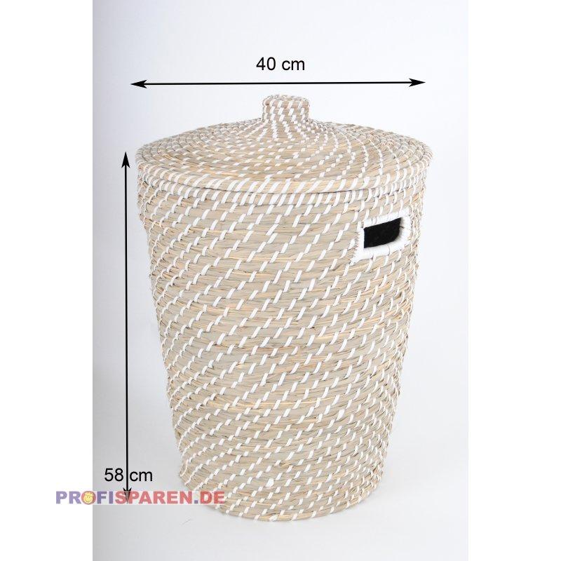 Aufbewahrungskörbe Mit Deckel wäschekorb aus binsen mini blumentopf aufbewahrungskorb mit deck