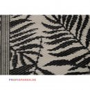 OutdoorTeppich TROPICAL LEAVES 120X180cm schwarz beige...