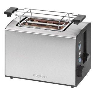 "Toaster ""Wide-Slot"" mit Edelstahlgehäuse 800 Watt"