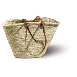 Korbtasche Strandtasche IBIZA aus Palmblatt