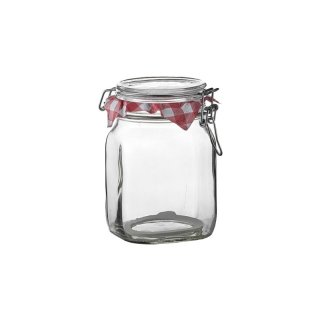 Einkochglas Fido 1,0 L mit Bügelverschluss