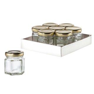 Konfitüren-Glas 47ml 7er Pack