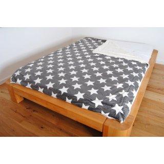 Wohndecke STAR 150x200cm Wendedecke in zwei Farben erhältlich