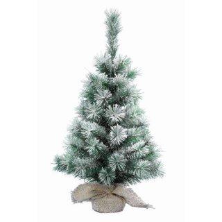 """Mini-Weihnachtsbaum """"Schneeflocke"""" 45cm hoch"""