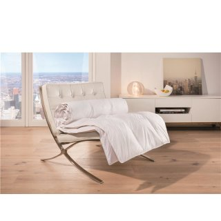 Sommer-Daunen-Decke 135 x 200cm - qualitativ hochwertige Steppdecke für heiße Nächte!