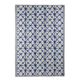 """Outdoor-Teppich """"Santorin"""" 120x180cm blau-weiß"""