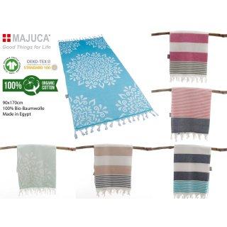 Hamam-Strandtücher aus 100% Bio-Baumwolle