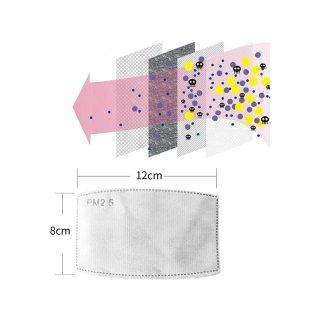 5er Filterelement PM2.5 12x8cm (adult)