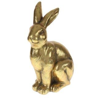 """Hase XXL """"Golden Rabbit"""" antik 36x21,5x51cm"""