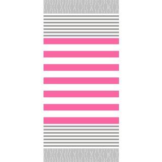 Streifen grau-pink